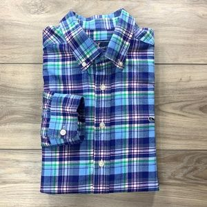 Vineyard Vines Plaid Check Slim Fit Whale Shirt
